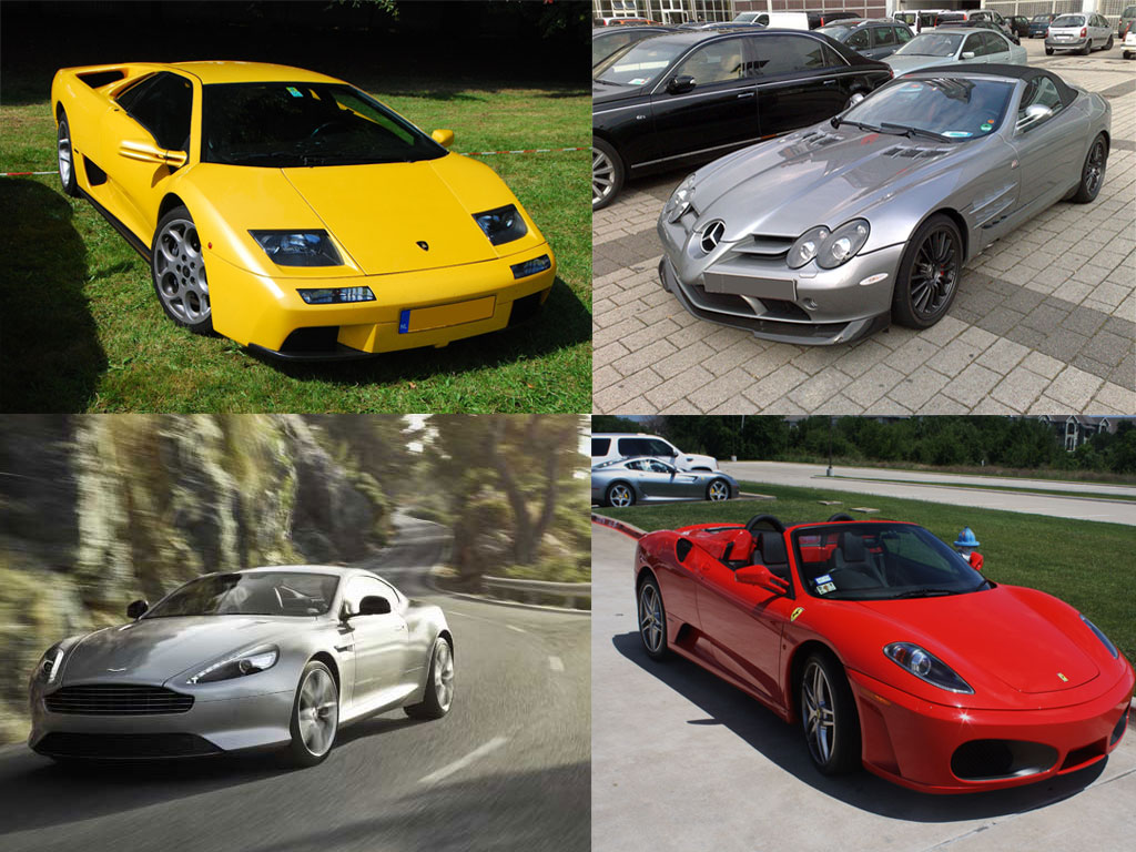 Famous People Cars 4 Impressive Sports Cars Owned By Celebrities