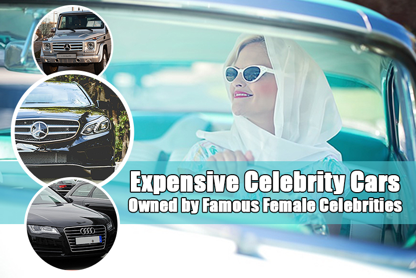 Expensive Celebrity Cars Owned by Famous Female Celebrities