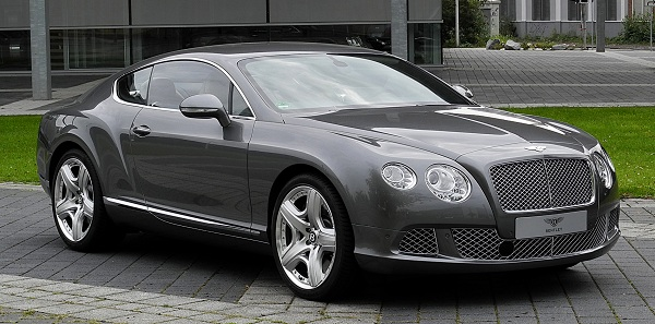 The Bentley of Jennifer Aniston