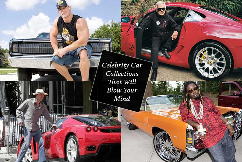 Celebrity Car Collections That Will Blow Your Mind
