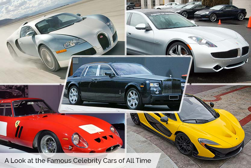 A Look at the Famous Celebrity Cars of All Time
