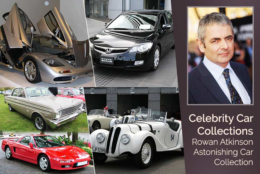 Celebrity Car Collections – Rowan Atkinson Astonishing Car Collection