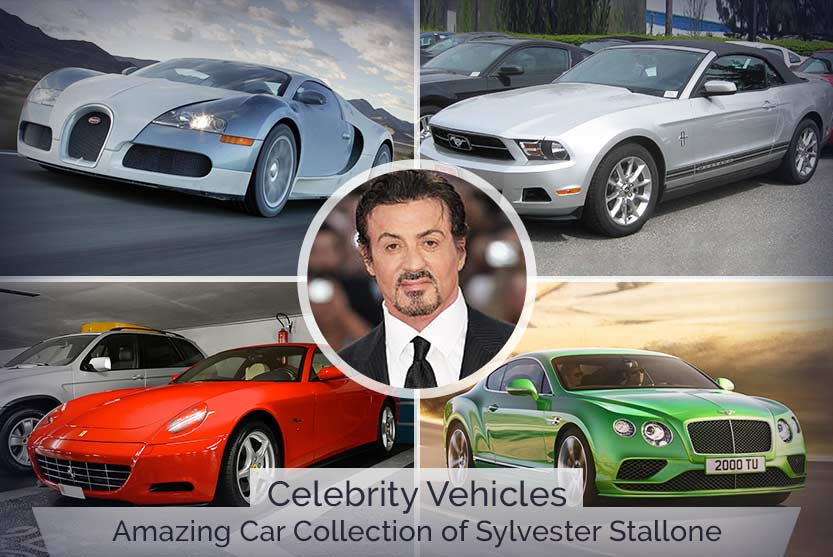 Celebrity Vehicles – Amazing Car Collection of Sylvester Stallone