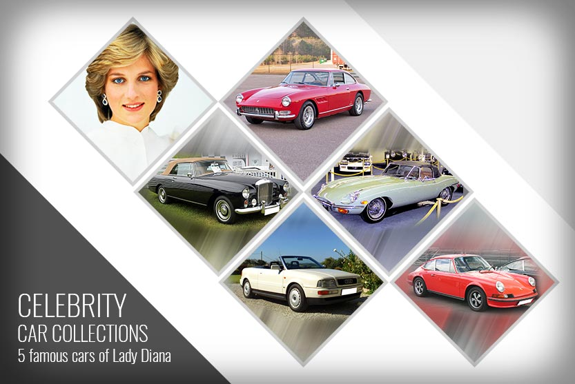Celebrity Car Collections - 5 famous cars of Lady Diana
