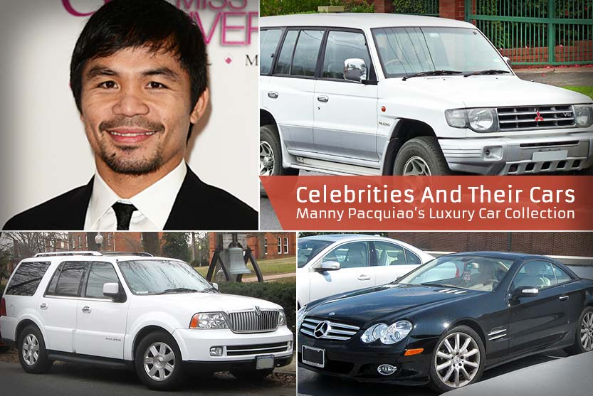 Celebrities And Their Cars - Manny Pacquiao's Luxury Car Collection