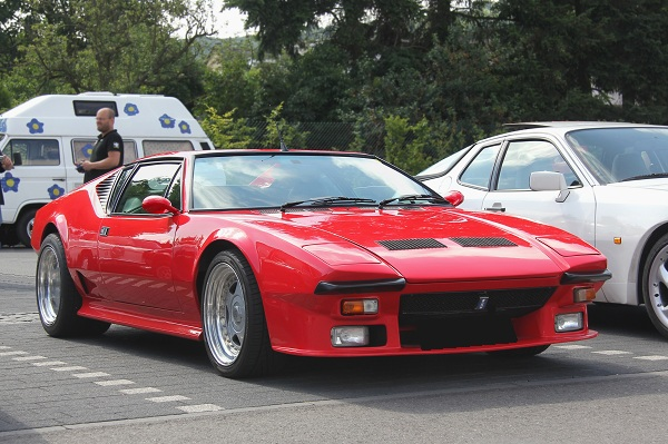 Famous People Cars - De Tomaso Pantera