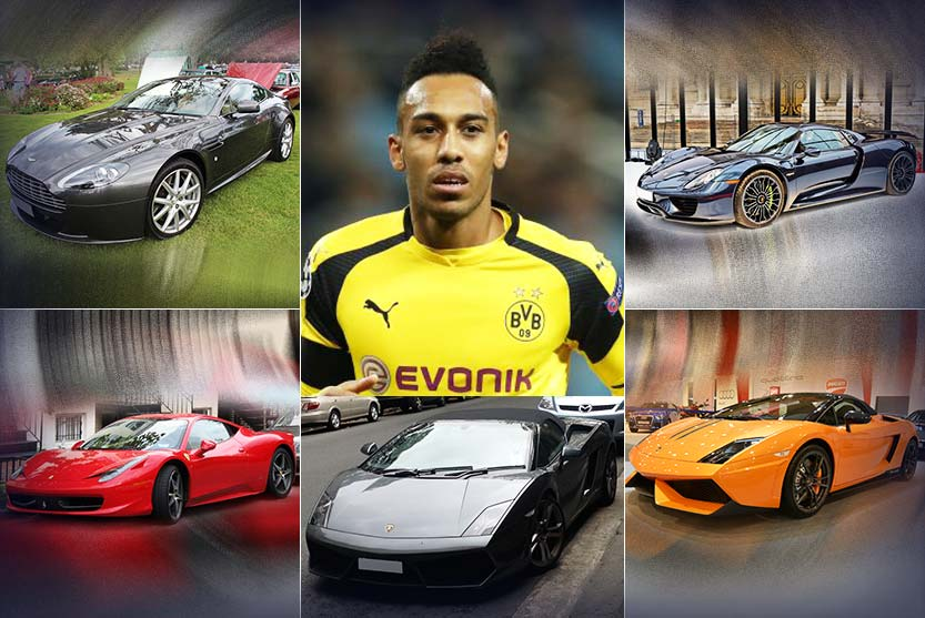 Car Collection of Pierre-Emerick Aubameyang