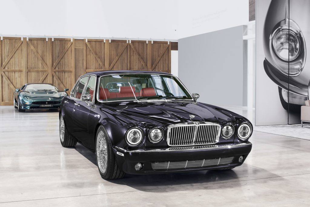 Exterior of the Celebrity Luxury Cars' Jaguar XJ6