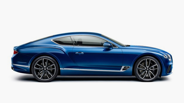 2018 Bentley Continental GT design