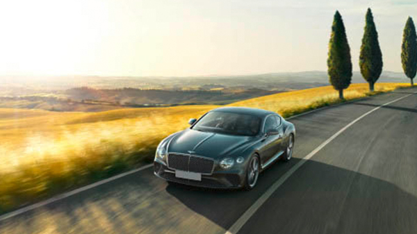 2018 Bentley Continental GT performance