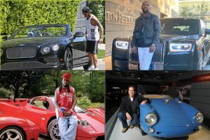 Impressive Car Collections of Renowned Celebrities
