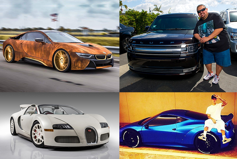 10 of the Craziest Vehicles Owned by Celebrities