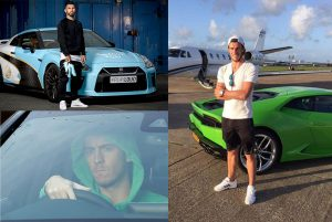 Top Vehicles Owned by Famous Footballers